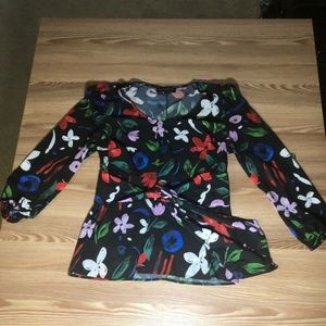 Beautiful Eloquii Floral Blouse in Size 14